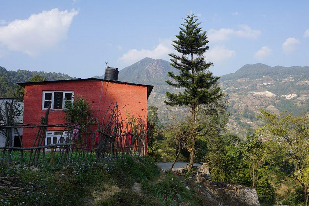 Renovierungsarbeiten auf dem Gelände der Akasha Academy