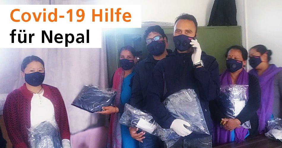 Unterstützungsaktion: Schutzkleidung für medizinisches Personal in Nepal