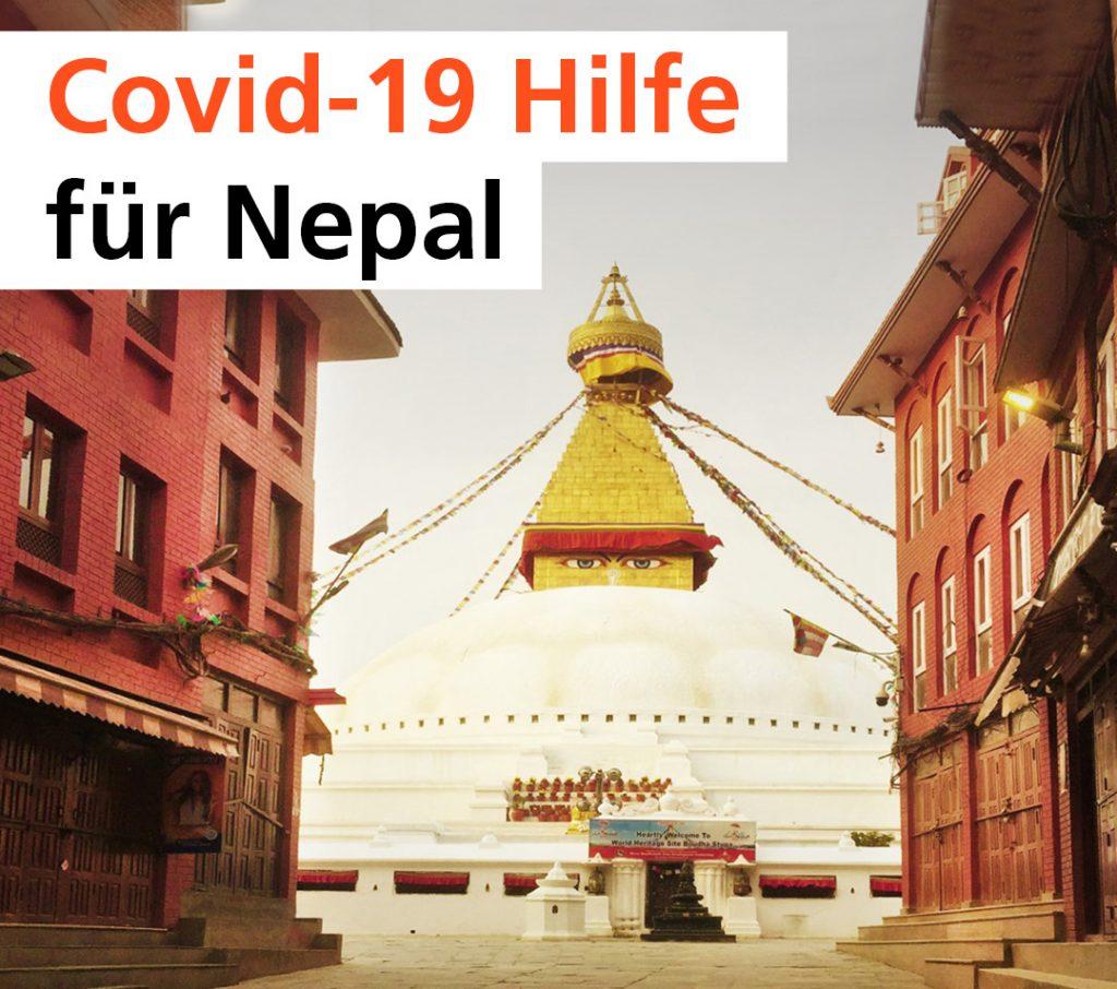 Covid- 19 Hilfe für Nepal