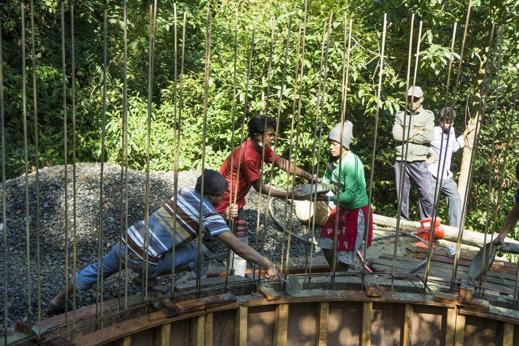 Wasserprojekt in Suntakhan schreitet voran