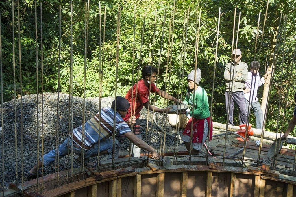 Wasserversorgungsprojekt in Suntakhan
