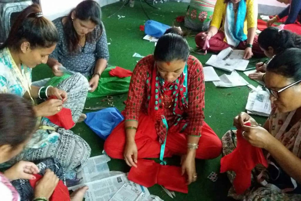 Creating career perspectives: a sewing project for women from Suntakhan