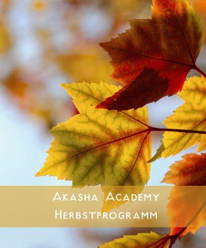 Akasha Academy – Herbstprogramm