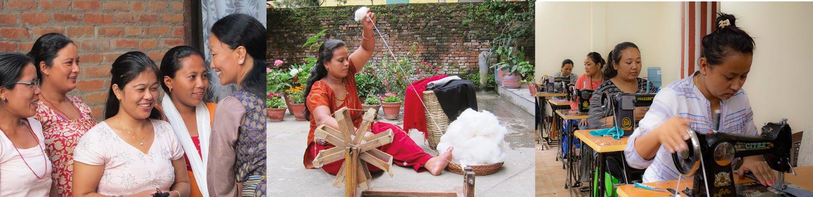 AKASHA HANDMADE – Empowering Women in Nepal