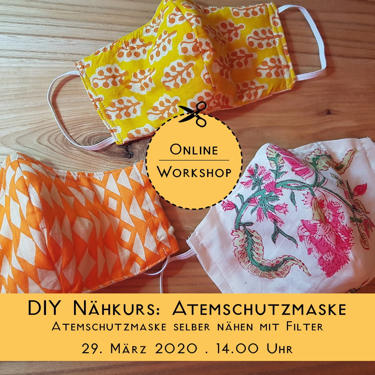 Do it Yourself Webinar: Atemschutz Maske