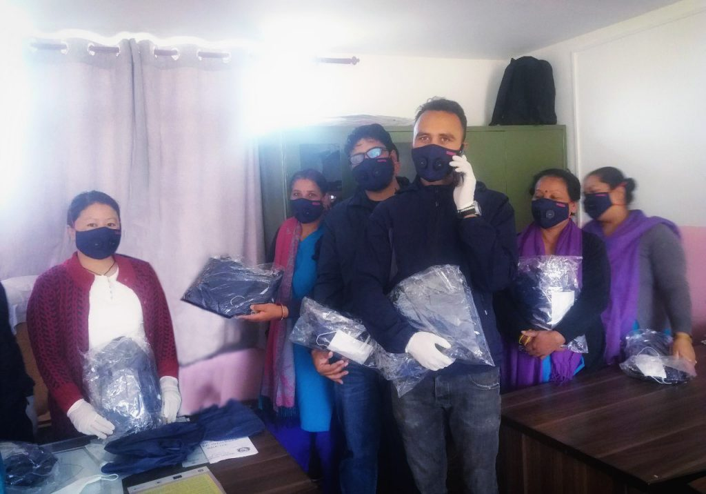 Support needed: Protective Equipment for medical staff in Nepal