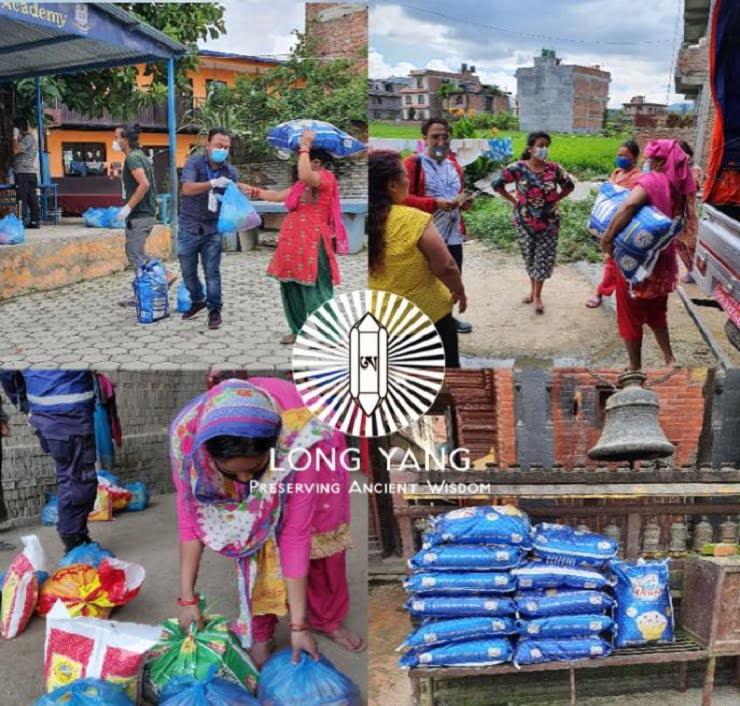 Nahrungsmittel – Hilfsaktionen: So unterstützt der Long Yang e.V in der Covid 19 Krise