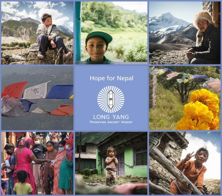 Bilder zum Projekt Hope for Nepal