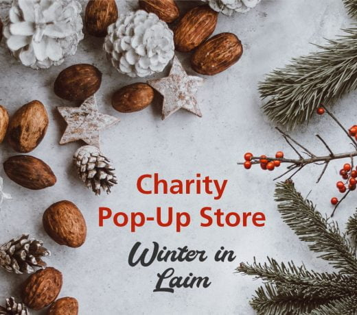 Charity Pop-Up-store München Laim