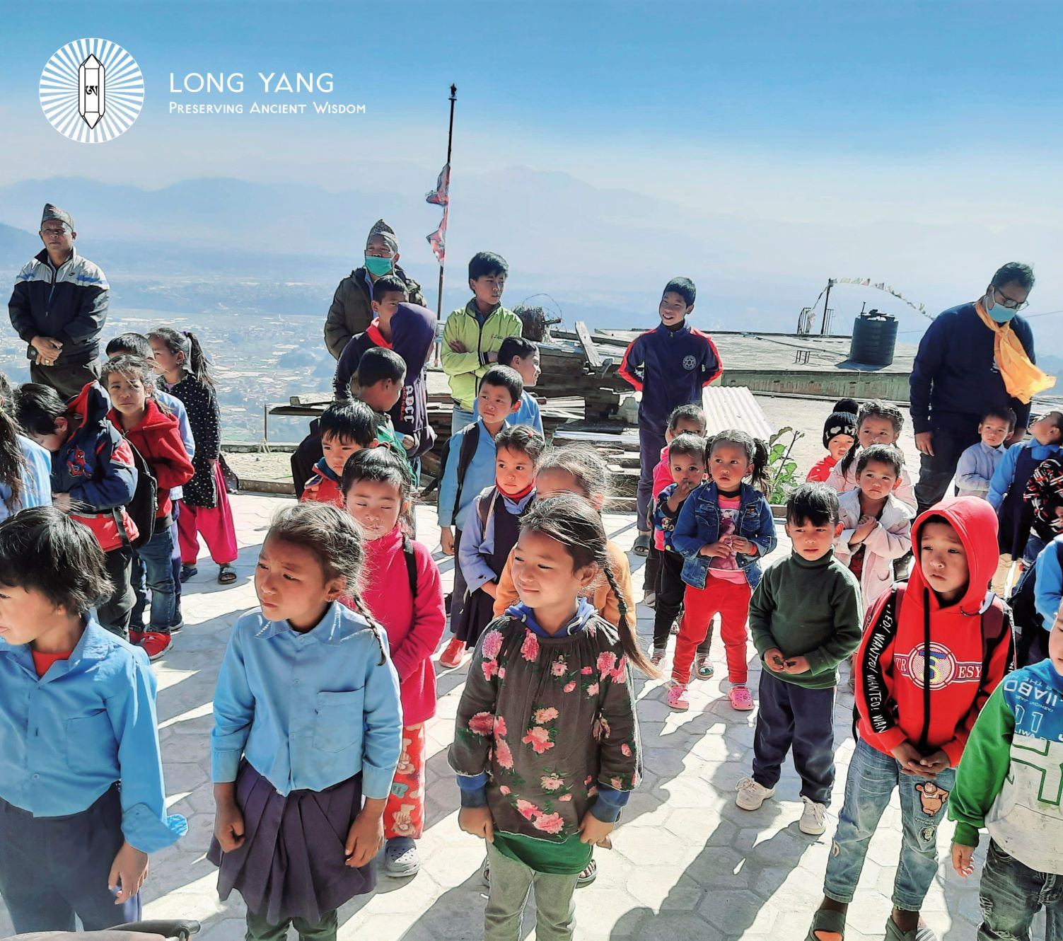 New winter uniforms for 530 students in Suntakhan