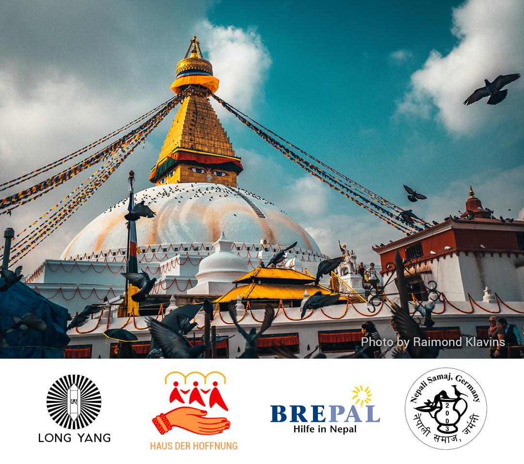 Gemeinsamer Spendenaufruf für Nothilfe in Nepal