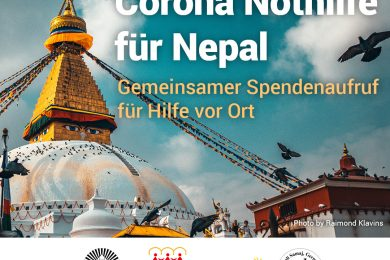 Covid-19 Nothilfe für Nepal