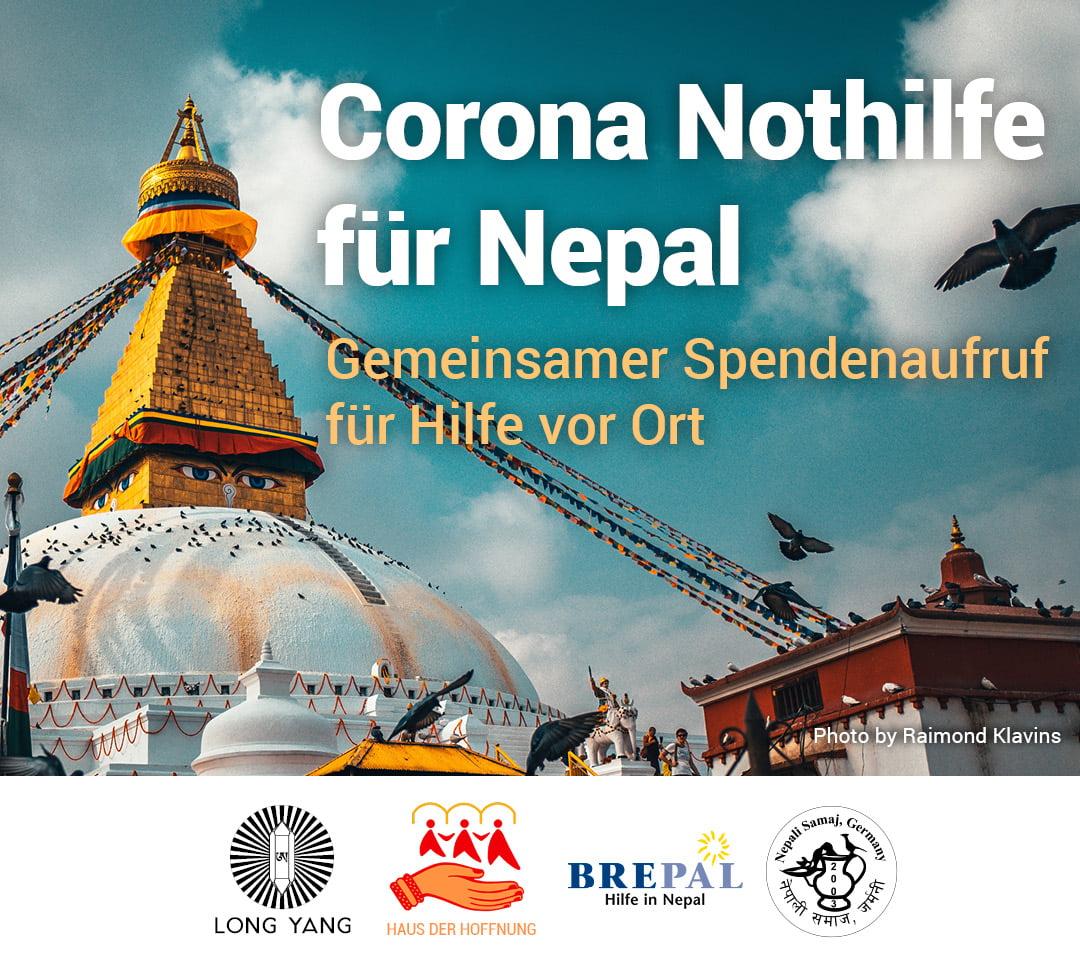 Corona Nothilfe für Nepal