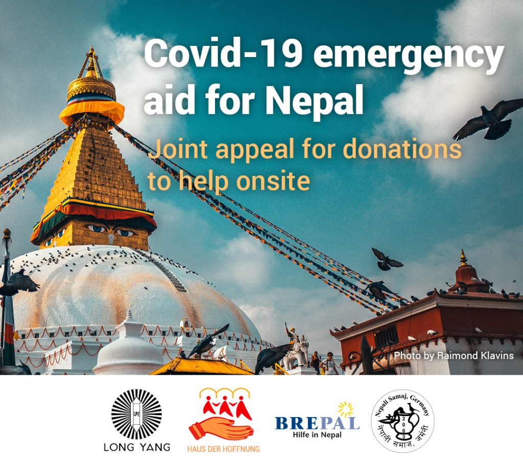 Covid-19 Emergency Aid for Nepal