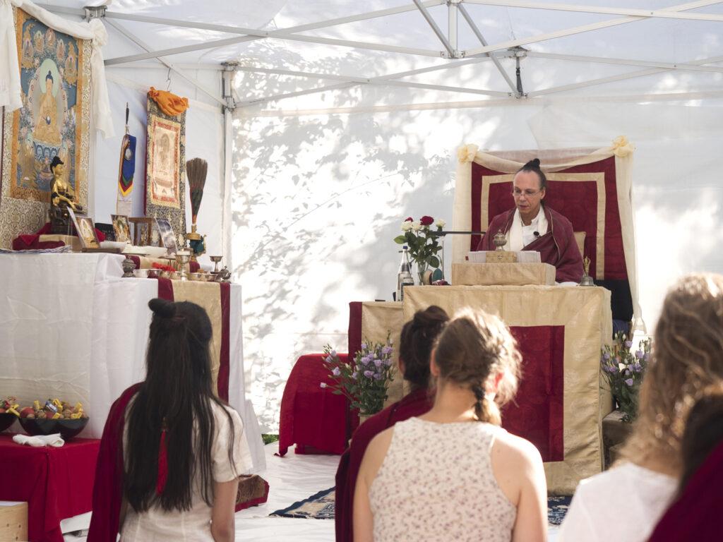 Buddhistisches Tshethar Ritual in Gauting bei München